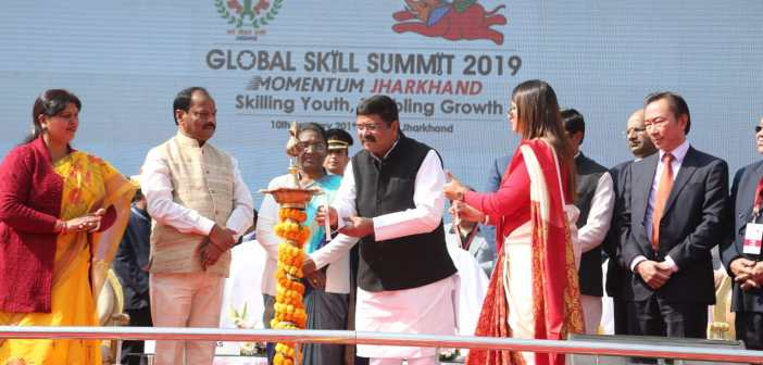 Global Skill Summit Jharkhand to enable employment to more than 1 lakh youth in the state