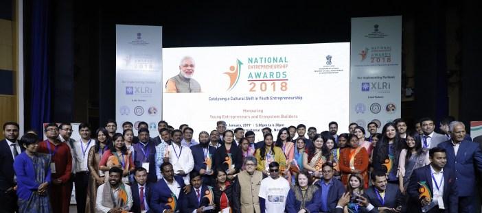 National Entrepreneurship Awards 2018 winners