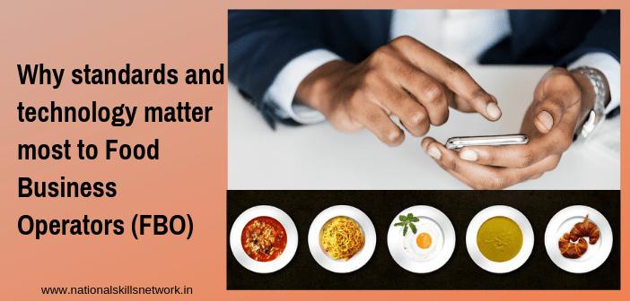 standards technology food business