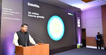 Deloitte World Class India Dharmendra Pradhan