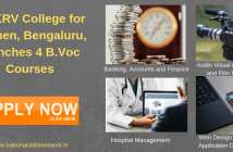 NMKRV B.Voc Courses for women