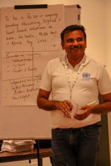 Manish Kothari Rhino Machines at Empretec program