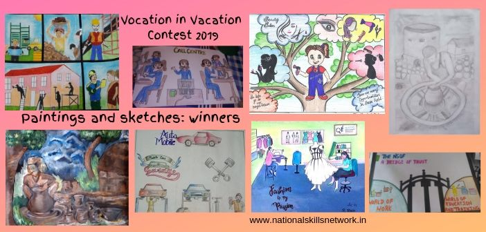 Vocation in Vacation Contest 2019 – Paintings and Sketches