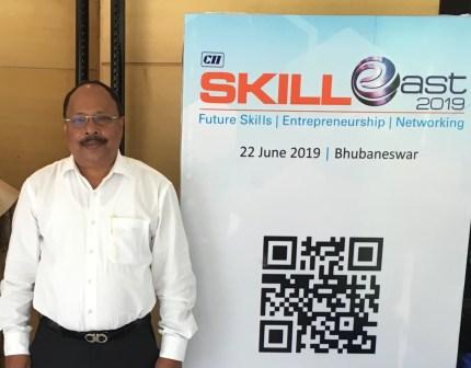 Pradipta Mahanti CII Skill East 2019