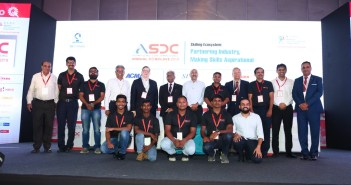 ASDC Conclave 2019 IndiaSkills winners and trainers