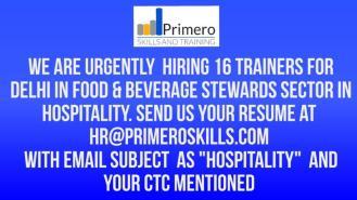 Primero skills trainer jobs