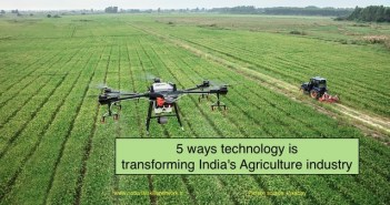 5 Ways technology is transforming Indias agriculture industry