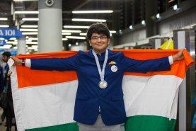 Pranav Nutalapati represented Karnataka won Silver in Web Technologies