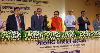 Dr. Mahendra Nath Pandey lays foundation stone for Indian Institute of Skills, Mumbai