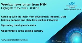 News Bytes on Skill Development and Vocational Training – 090919