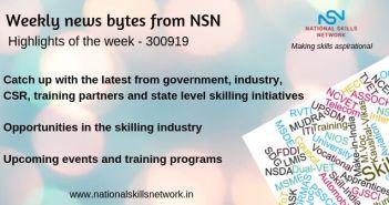 News bytes on Skill Development and Vocational Training – 300919
