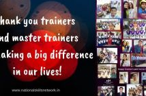 Thank you trainers and master trainers for making a big difference in our lives!