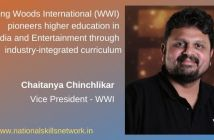 Whistling Woods International (WWI) pioneers higher education in Media and Entertainment through industry-integrated curriculum