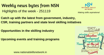 News Bytes on Skill Development and Vocational Training – 251119