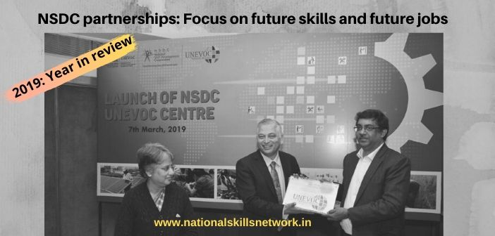 2019 year in review- NSDC partnerships- Focus on future skills and future jobs
