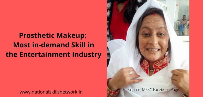 Prosthetic Makeup Skills in Entertainment Industry