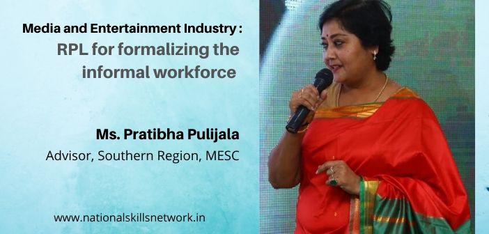 RPL formalizing informal workforce