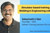Simulator-based training for Welding in Engineering colleges