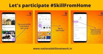 Let's participate #SkillFromHome