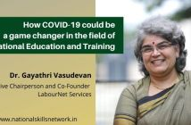 How COVID-19 could be a game changer in the field of Vocational Education and Training