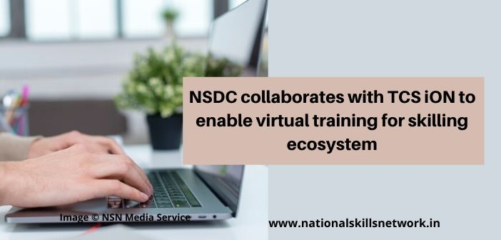 NSDC partners TCS iON