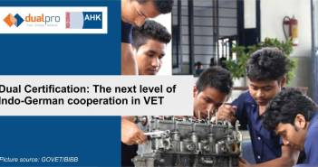 Dual certification The next level of Indo-German cooperation in VET