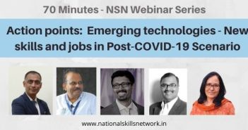 Emerging technologies - New skills and jobs in Post-COVID-19 Scenario