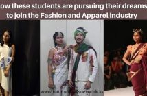How these students are pursuing their dreams to join Fashion and Apparel industry