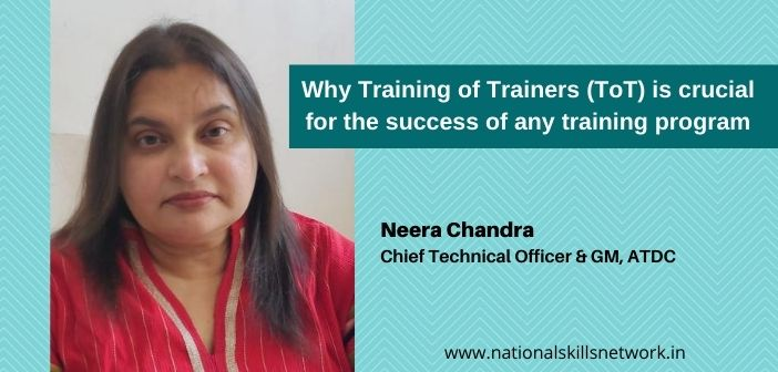 Why Training of Trainers (ToT) is crucial for the success of any training program