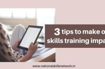 3 tips to make online skills training impactful
