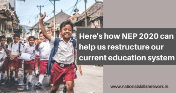 National Education Policy 2020 can help us restructure our current education system