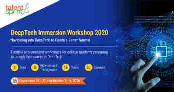 DeepTech Immersion Workshop