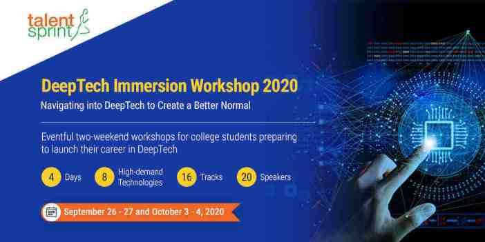 DeepTech Immersion Workshop