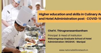 Higher education and skills in Culinary Arts and Hotel Administration post - COVID-19