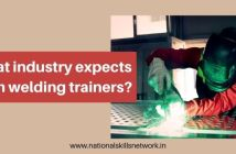 What industry expects from welding trainers