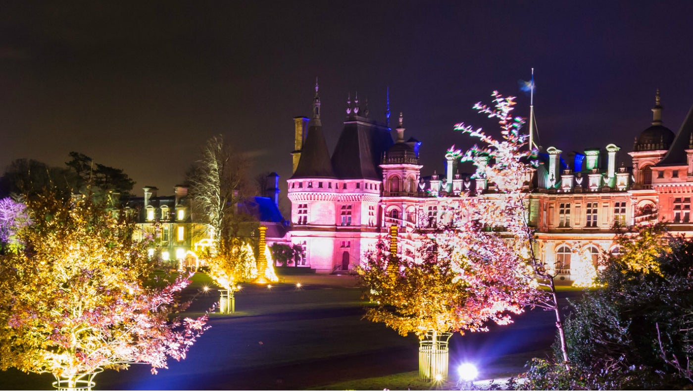 Christmas At Waddesdon Manor National Trust