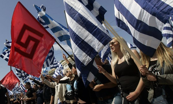 Greece: Golden Dawn Only Party to Increase Its Vote ...