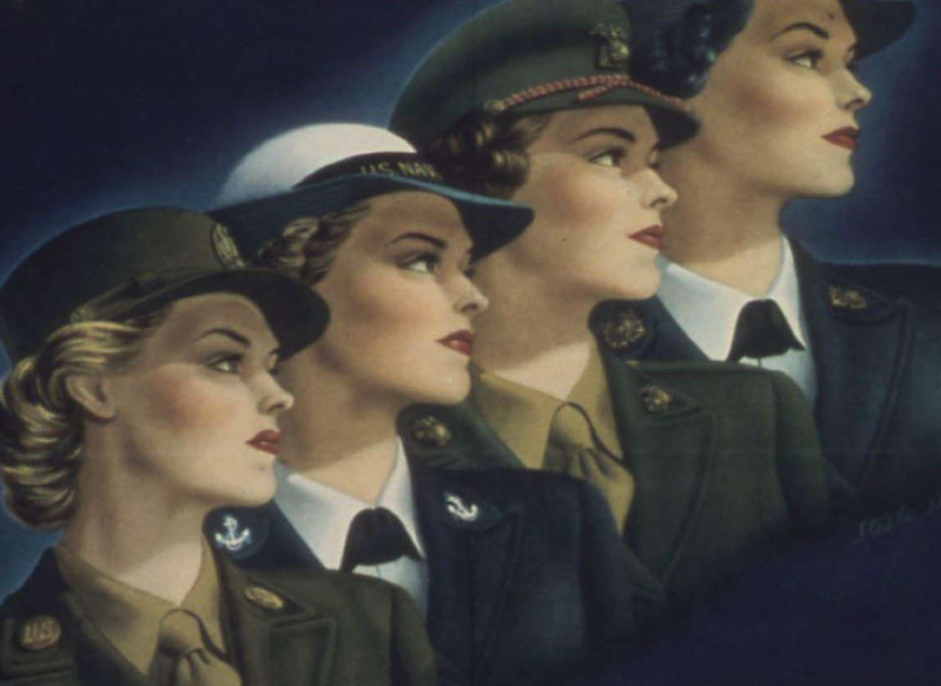 History At A Glance Women In World War Ii