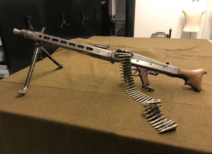 The MG-42 Machine Gun   The National WWII Museum   New Orleans