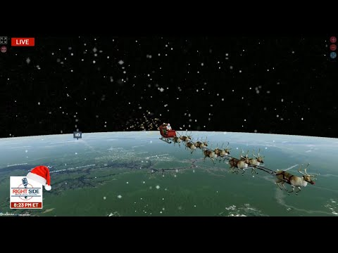 LIVE: Tracking Santa Claus on Christmas Eve 2020 – LIVE Santa Tracker from NORAD & Music