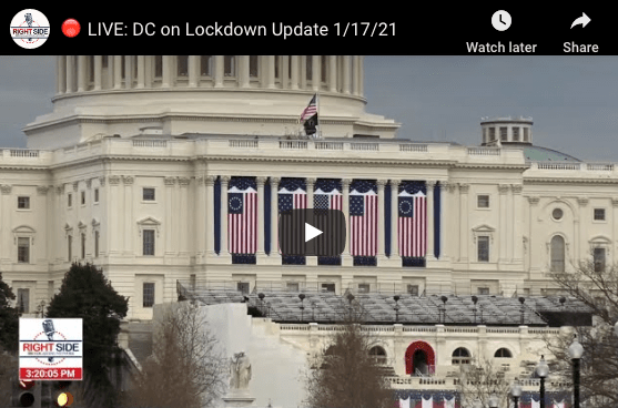 WATCH LIVE: DC ON LOCKDOWN 1/17/21