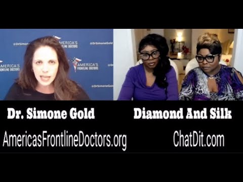 Diamond and Silk talked to the Doctor about face diapers and more….