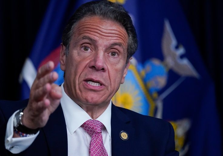 Most New Yorkers Want Cuomo to Resign Over Sexual Harassment, Poll Finds