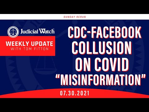"""CDC-Facebook Collusion on COVID """"Misinformation?"""" Left Continues Attack on Fair Elections"""