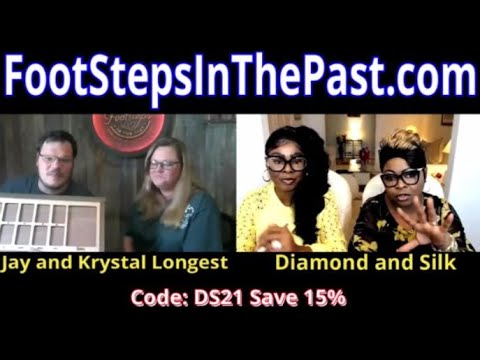 Diamond and Silk talk to Great Dane Tees Owner's about the mission to rescue Great Danes