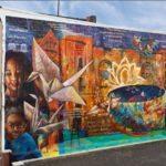(c)2015 Sonia Sanchez, Josh Sarantitis, Parris Stancell, poet and muralism