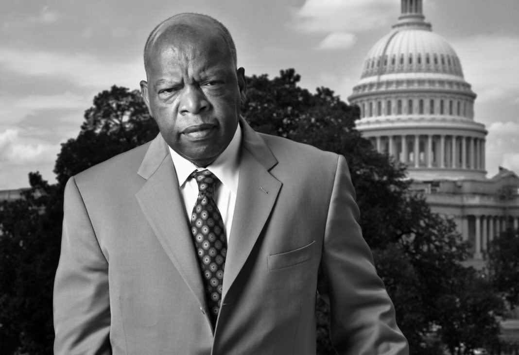 trump s attack on civil rights hero john lewis over mlk day the congressman