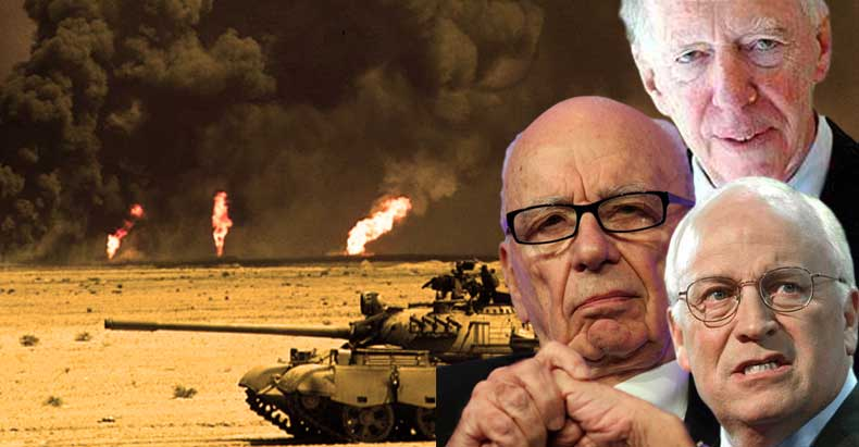 Cheney, Rothschild, and Fox News' Murdoch to drill for oil in Syria, violating international law - NationofChange
