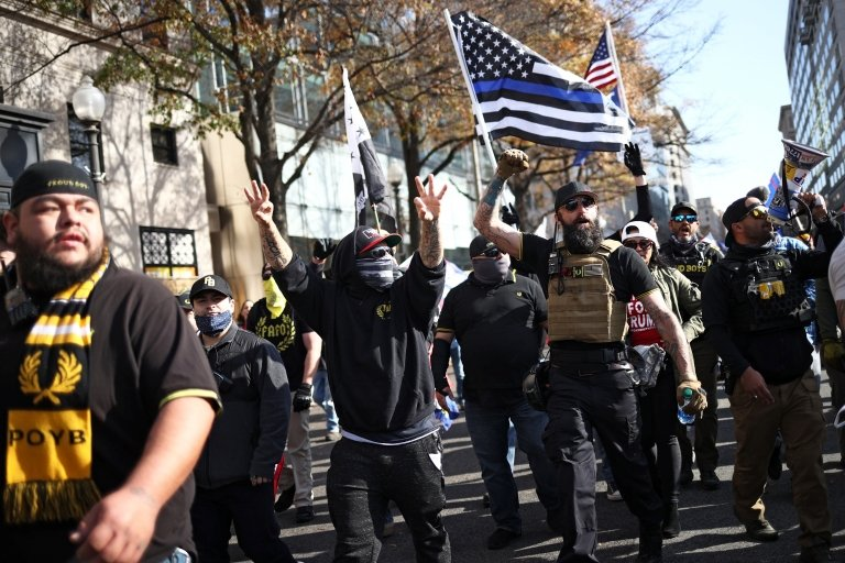 Trump supporters, counter-protesters in violent clash in DC