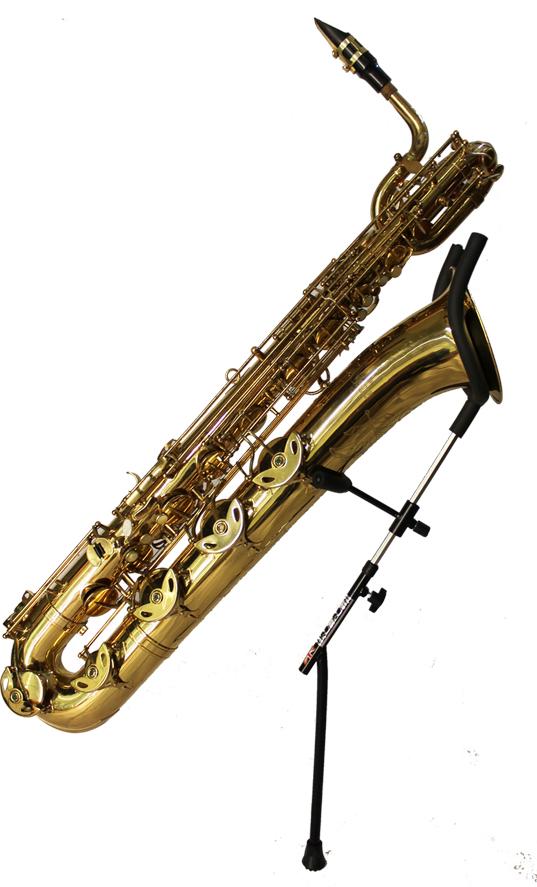 SaxRax Baritone Saxophone Stick Sitting Steve Goodson